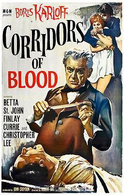 Primary image for Corridors of Blood - 1958 - Movie Poster