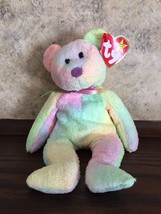 fde33ee3174 TY Beanie Baby - Groovy the Bear - Born 1 10 1999 - MINT