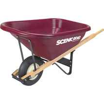 Scenic Road Maroon Parts Box For M8-1r Wheelbarrow 8 Cu Ft - $3.079,46 MXN
