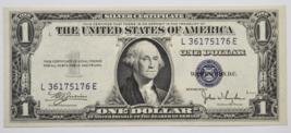 1935 C $1 Silver Certificate One Dollar Note L36175176E Uncirculated FR#... - $19.79