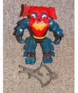 Vintage 1984 Masters Of The Universe Mantenna Figure With Weapon Made in... - $34.99