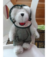 """Boyds bear Sugar McRind 10"""" off white jointed bear with watermelon acc... - $10.00"""