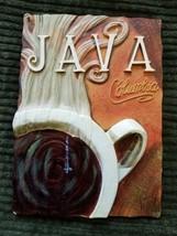 "Tile Art 3D Java Columbia Hot Cup of Coffee Kitchen Trivet 4.5"" x 6 1/8"" - $19.99"
