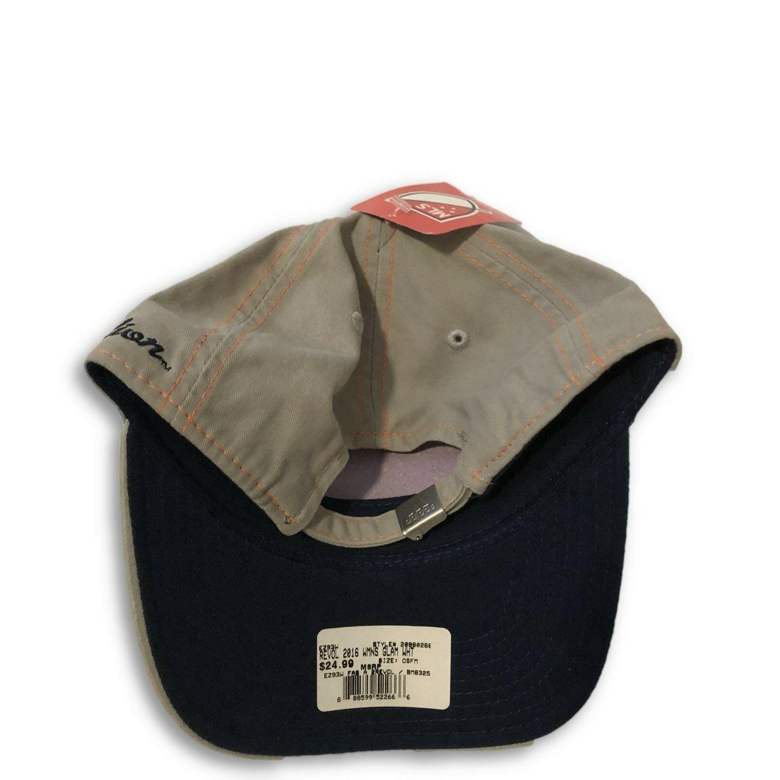 NWT New England Revolution adidas Women's Glam Adjustable Hat
