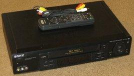 Sony Slv-777hf Hi-fi Stereo vhs/vcr combo - $135.00