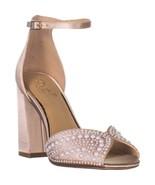 Badgley Mischka Jewel Serenity Ankle Strap Sandals, Champagne - $44.15+