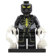 1 pc Super Hero Spiderman Mark 2 Compatible Minifigure Building Block  - $3.75