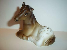 Fenton Glass Brown & Cream Appaloosa Horse Pony Figurine Ltd Ed #10/21 M... - $183.82