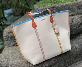 Tory Burch Perry Canvas Oversized Tote image 2