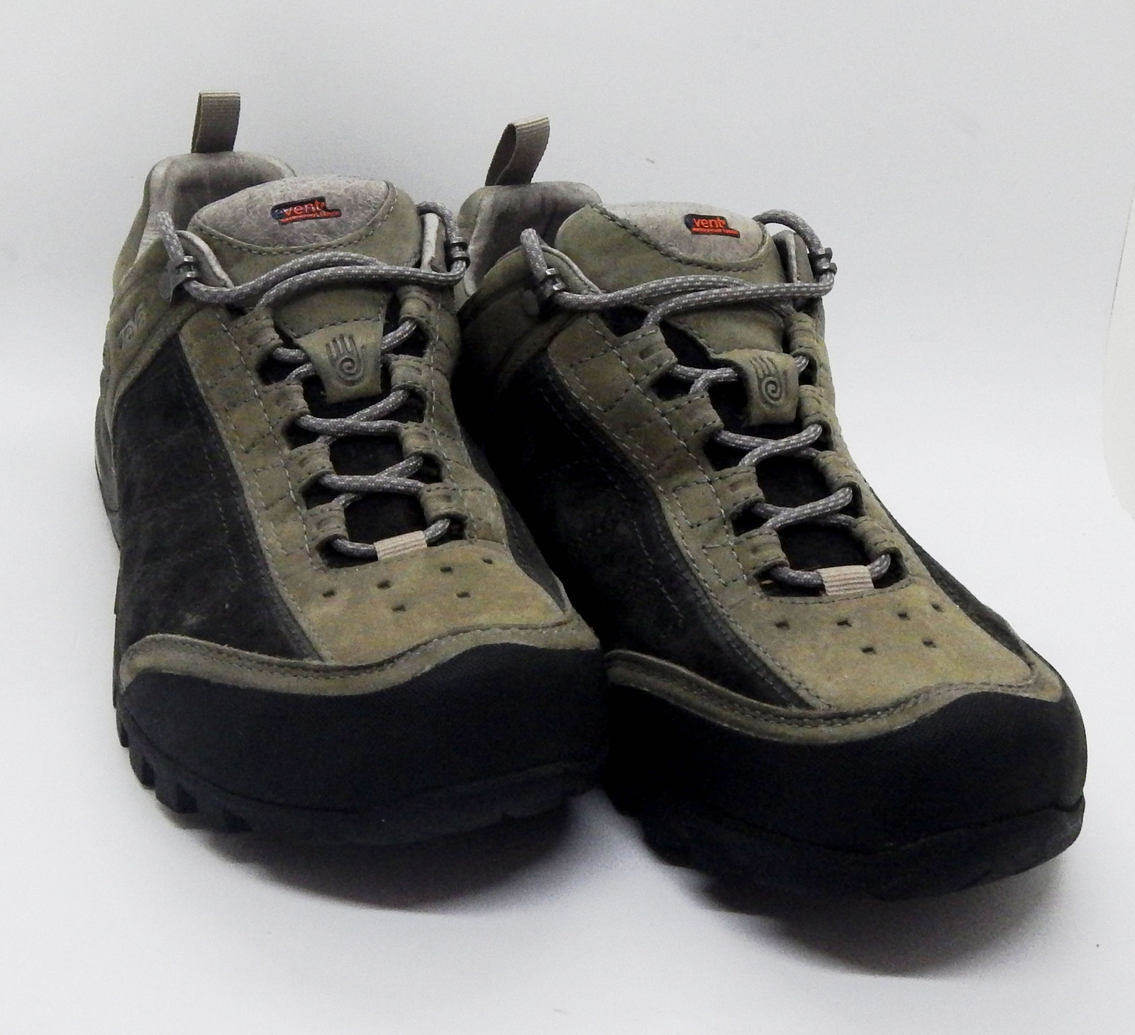 9dc9a72da TEVA Men 7.5 RIVA Event Water Proof Hiking Shoe Tan   Black Style  4103