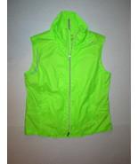 NWT $165 New Womens RLX Golf Ralph Lauren L Bright Lime Green Water Repe... - $66.00