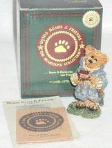 Boyd Bearstone Resin Bears Jeremy As Noah The Ark Builder Figurine #2426 7E image 3
