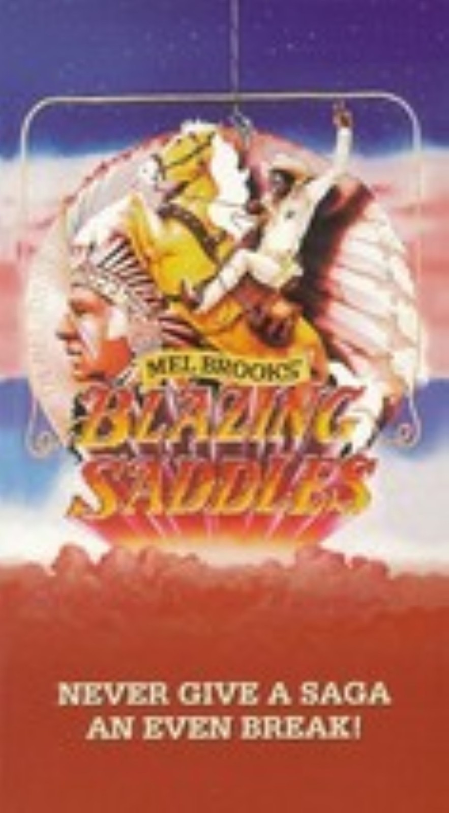 Blazing Saddles Vhs