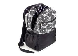Brand New Studio C Hello Dahlia Black & White Floral Backpack 51251292 image 3