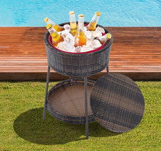 NEW! Patio Cooler Ice Bucket Beverage Drink Party Pool Yard - $121.51