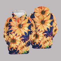 Unisex Sunflower 3D Hoodie All Over Print - $49.99