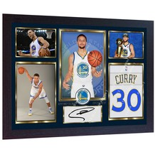 Stephen Curry Golden State Warriors autographed signed photo printed NBA... - $20.44