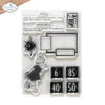 Memorable Stamp Set. Elizabeth Craft Design.  Art Journal CS234