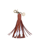 Chico's Brown Tech Tassel Phone Charger Clip on... - $34.99