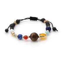 Lucky Eye Bohemian Crystal Beaded Bracelet Colorful Charms Bracelet For Women Gi - $13.55