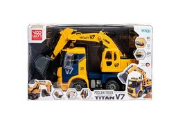 Yoowon Toys Titan Excavator Truck Sound Lights Vehicle Heavy Equipment Toy Car image 5