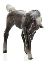 Hagen-Renaker Miniature Ceramic Horse Figurine Silver Black Morgan Colt image 11