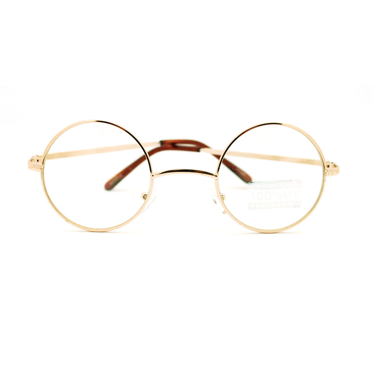 Metal frame s celebrity circle lens round eyeglasses