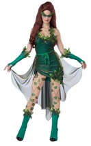 Women's Lethal Beauty Green Ivy Seduction Full Halloween Costume Cosplay... - $38.95