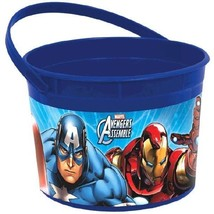 Avengers Favor Loot Plastic Container 1 pc Birthday Party - $3.67 CAD