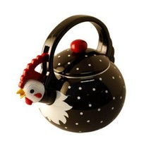 Supreme Housewares Rooster Whistling Tea Kettle... - $118.79