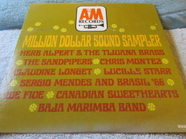 Million Dollar Sound Sampler Record Album - $4.49