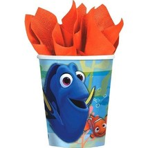 Finding Dory Birthday Party Paper Cups 9 oz 8 Ct Hot Cold - £3.10 GBP