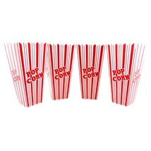 Reuseable Popcorn Plastic Containers Set of 4 M... - $8.59 - $28.04