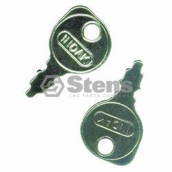 Silver Streak # 430009 Starter Key for AYP 122147X, AYP 109310X, BRIGGS & STR...