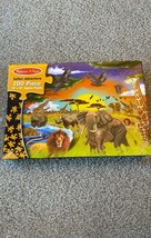 Melissa & Doug Safari Adventure 200 Piece Jigsaw Puzzle - $21.77