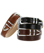 "St.Marks - Italian Calfskin Genuine Leather Designer Dress Belts,1-1/8"" ... - $26.95"