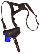 NEW Barsony Horizontal Brown Leather Shoulder Holster Sig-Sauer Comp 9mm 40 45 - $52.99