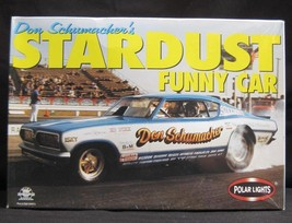Polar Lights Funny Car 3 Pack Stardust;  Mustang; Supercharger NIB Sealed  - $93.50