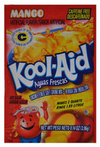 Kool-Aid Drink Mix Mango 10 count  Aguas Frescas - $3.91
