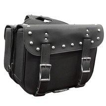 Motorcycle Saddlebags Two Strap Zip-Off Saddle Bags Xelement SH559ZB - $117.81