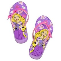 RAPUNZEL DISNEY PRINCESS Purple Platform Flip Flops Beach Sandals NWT Sz... - $15.99