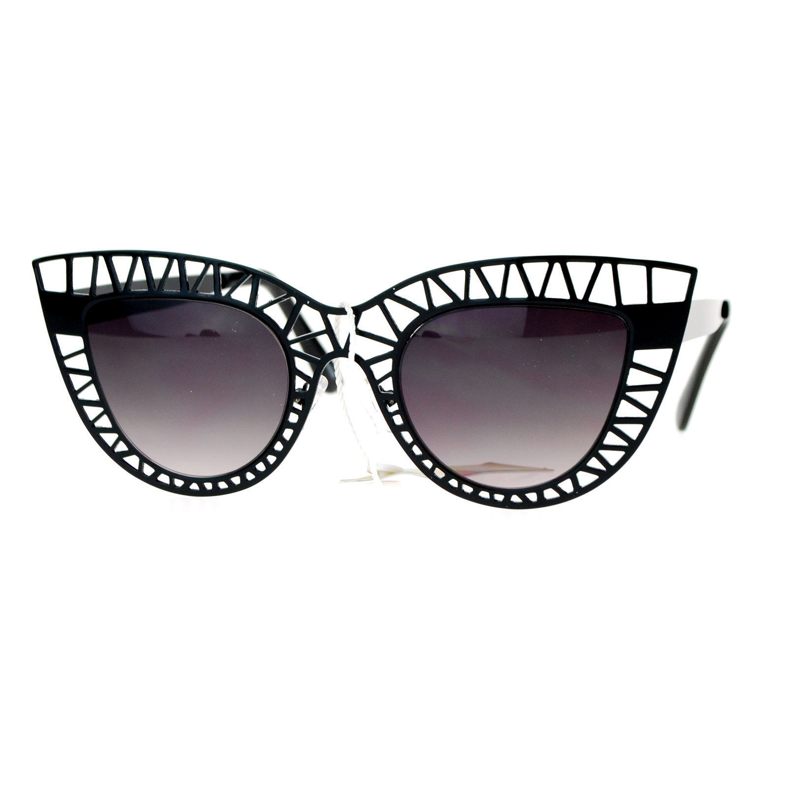 Wire Frame Glasses Trend : SA106 Womens Lattice Wire Frame Unique Cat Eye Runway ...