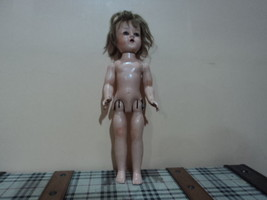 vintage hard plastic doll Made in usa. - $94.05