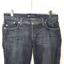 Rock & Republic Jeans Womens Jimmy Sz 26 Inseam 33 Dark Wash Bootcut Low... - $34.94
