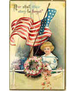 Nor Shall They Be Forgot Ellen Clapsaddle Vintage Post Card - $8.00