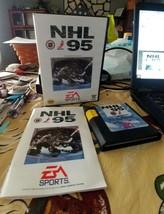 SEGA NHL 95 Game, Case, Manual - $4.99