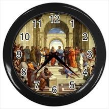 Raphael School Of Athens Wall Clock - $17.41