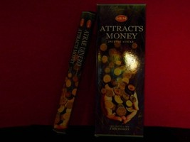 Hem Attracks Money Incense Bulk Savings 120 Sticks - $8.95