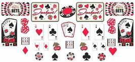 Casino Party Mega Value Pack Cutout Set, Multicolor, Multi Size - $14.80