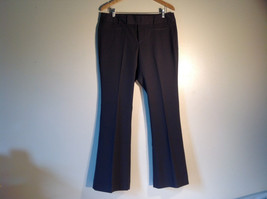 GAP Women's Size 12 / 12R Business Casual Pants Dark Charcoal Gray Viscose Blend